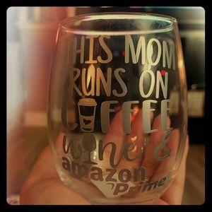 Other - Custom wine glass